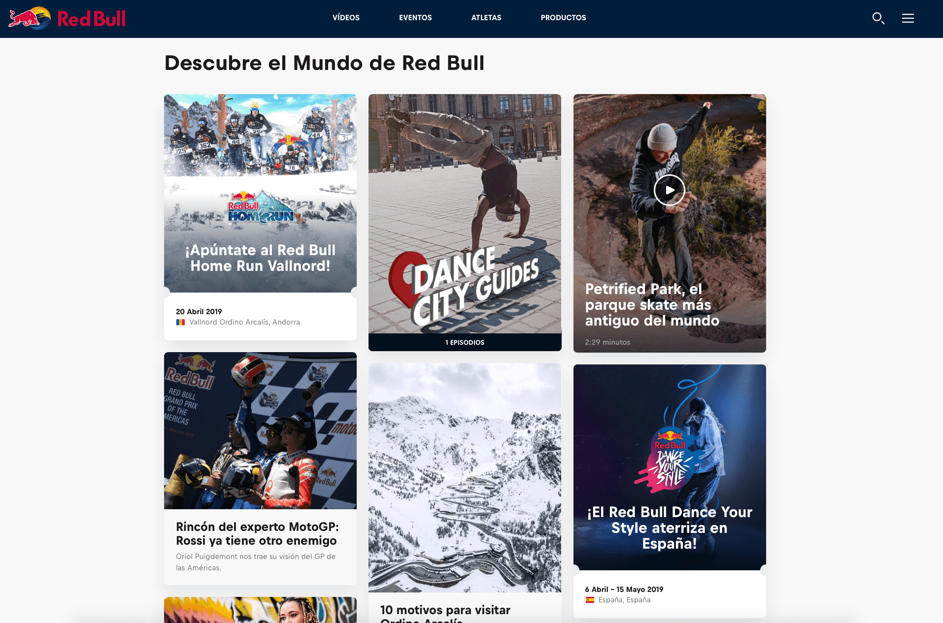 Screen Shot Red Bull