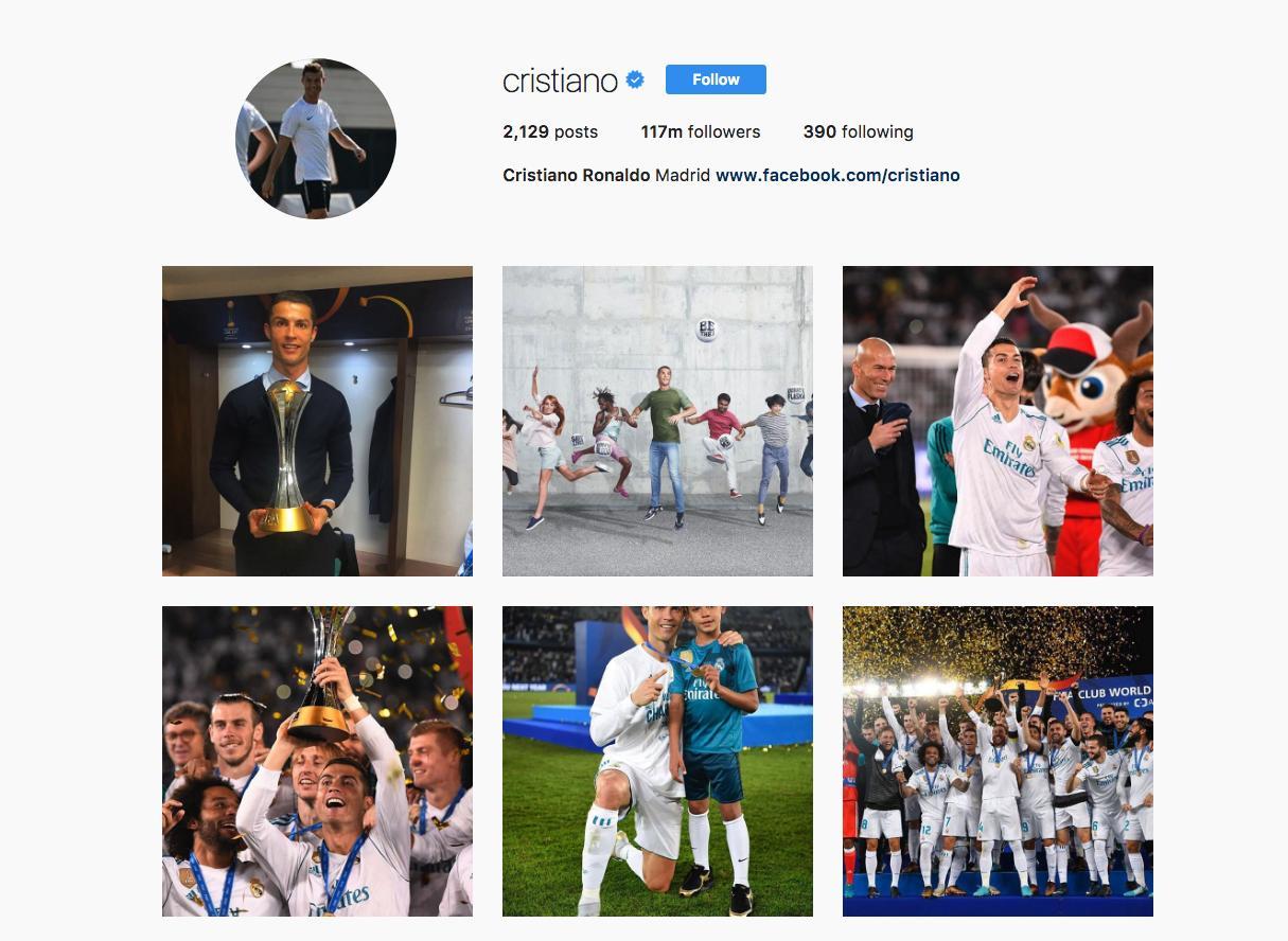 8. Cristiano Ronaldo