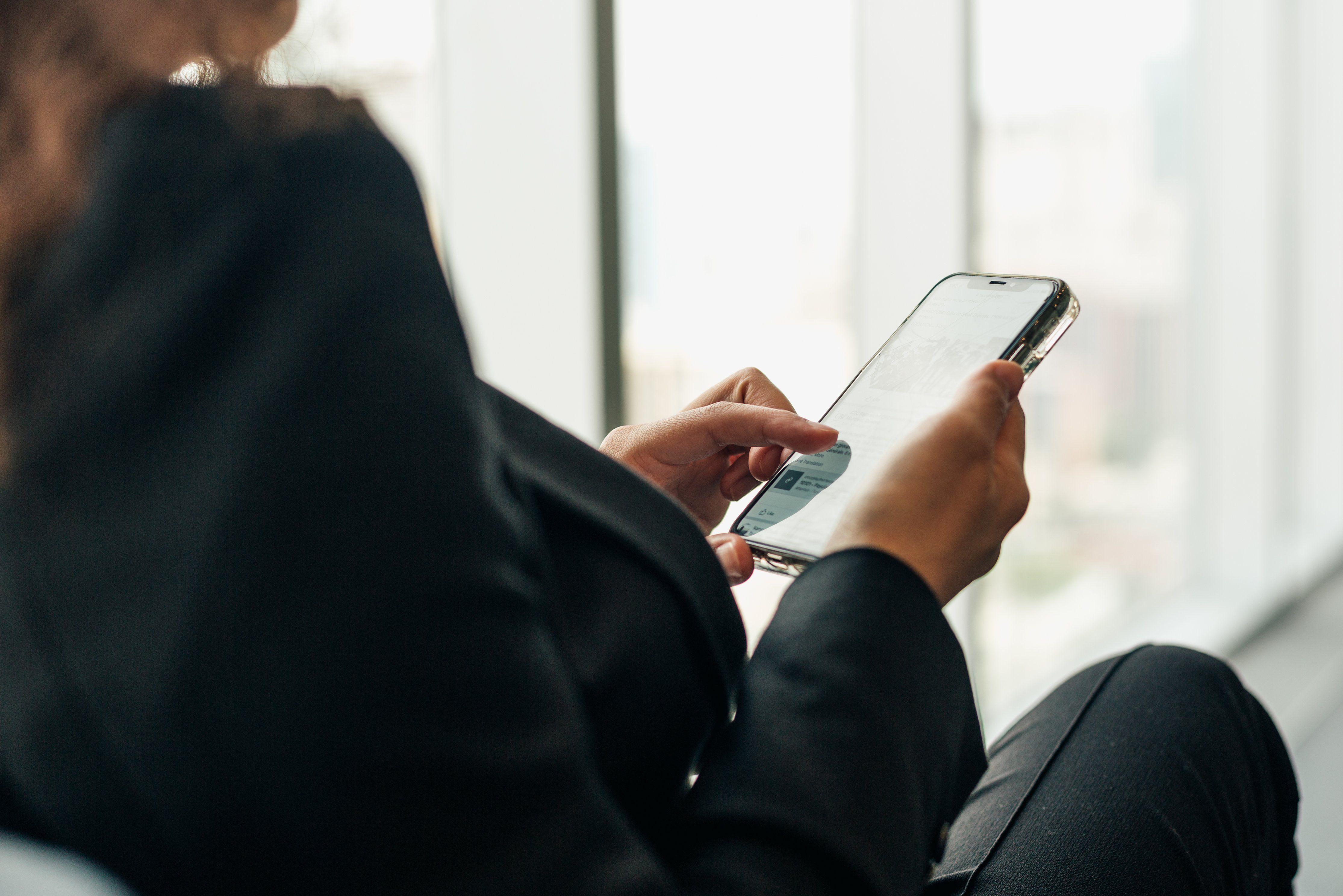 servicio al cliente online y tecnología móvil