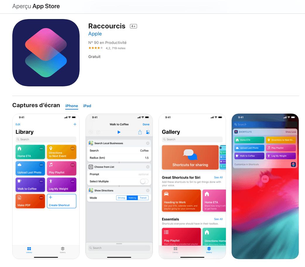 appli GIF iPhone