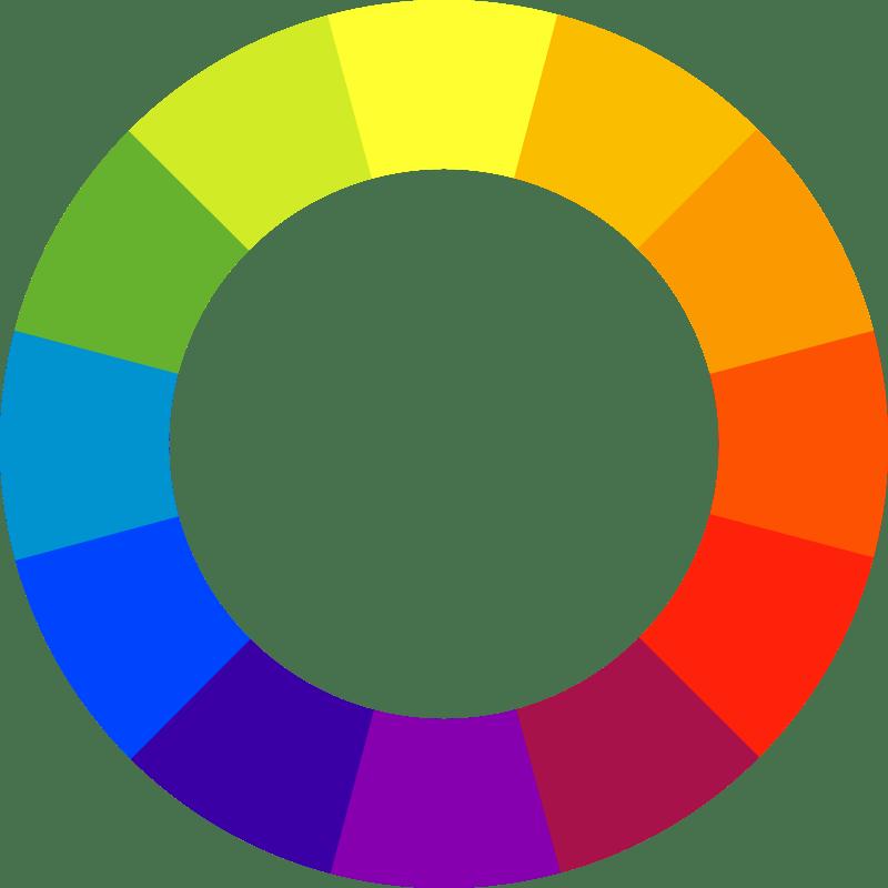 couleurs complémentaires palette de couleurs
