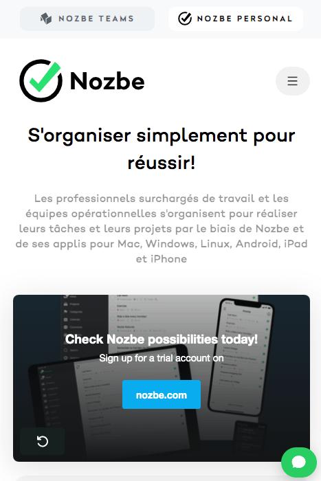 Nozbe app