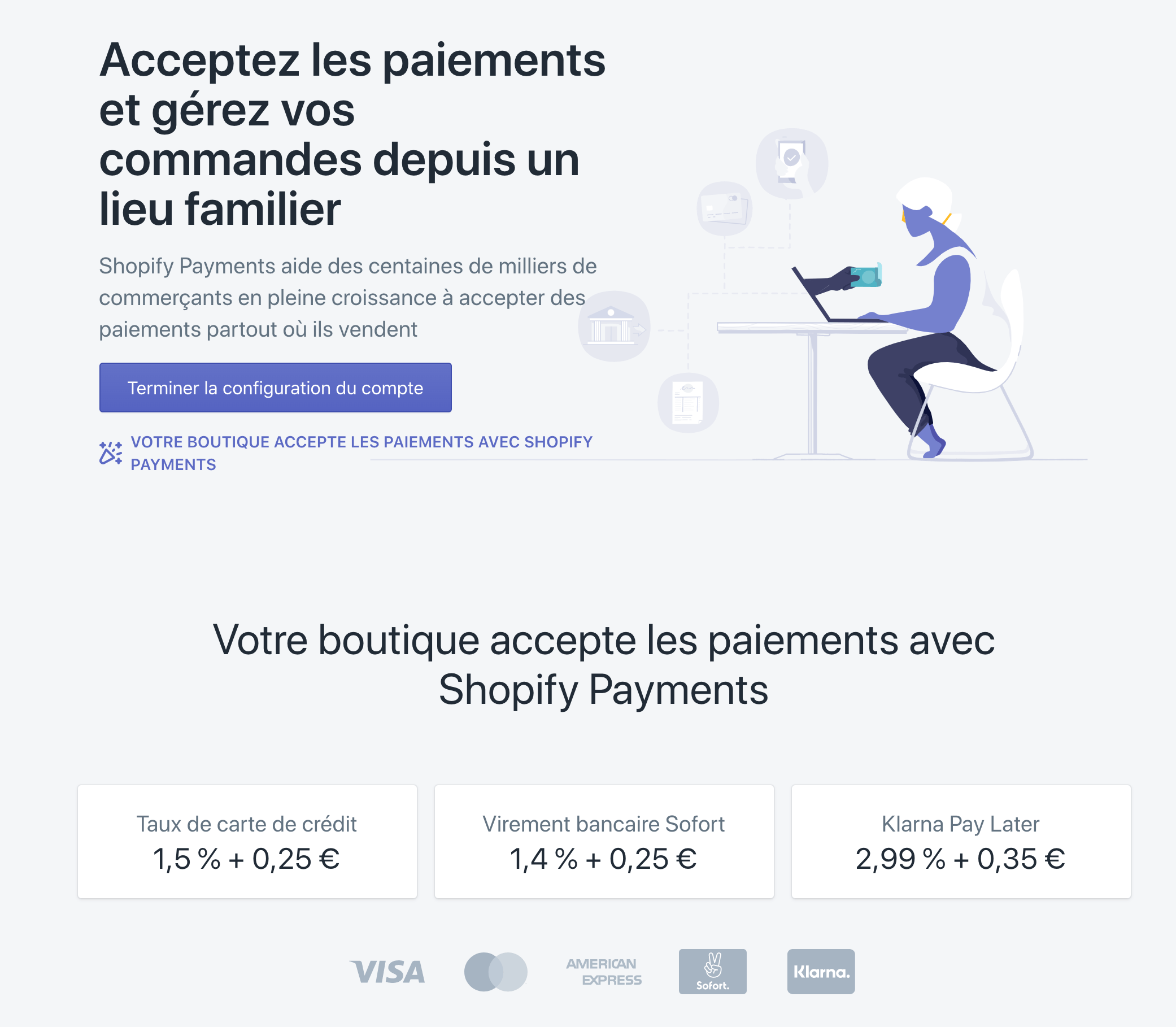 Shopify Payments France