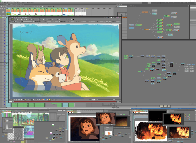logiciel d'animation 2d gratuit - OpenTooz