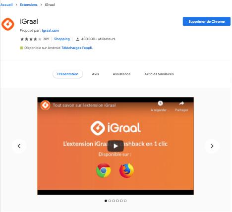 Google Chrome IGraal