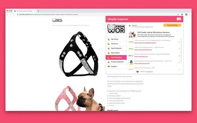 extension Chrome Shopify