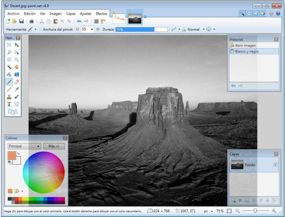 logiciel retouche photo gratuit windows paint net