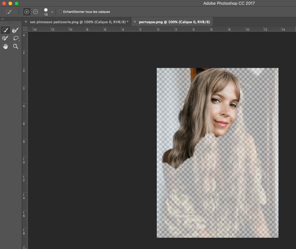 Comment mettre une image sans fond avec photoshop