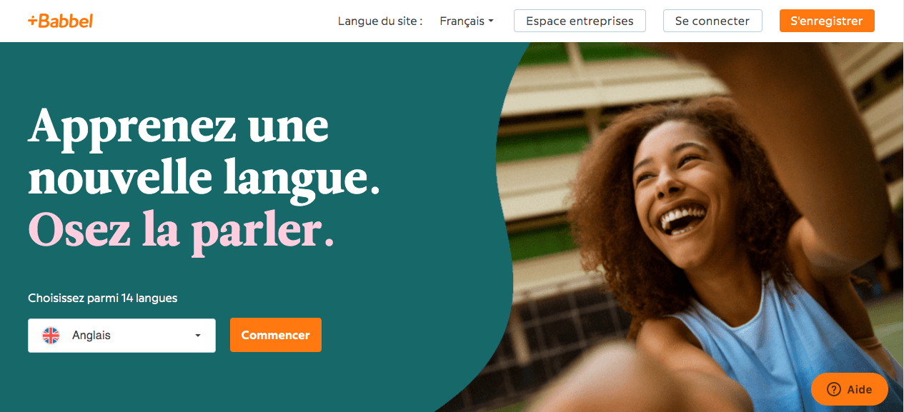 Babble cours de langues