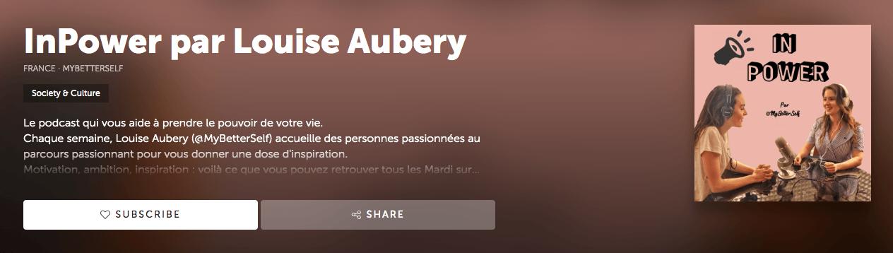 Podcast in Power - Louise Aubrey