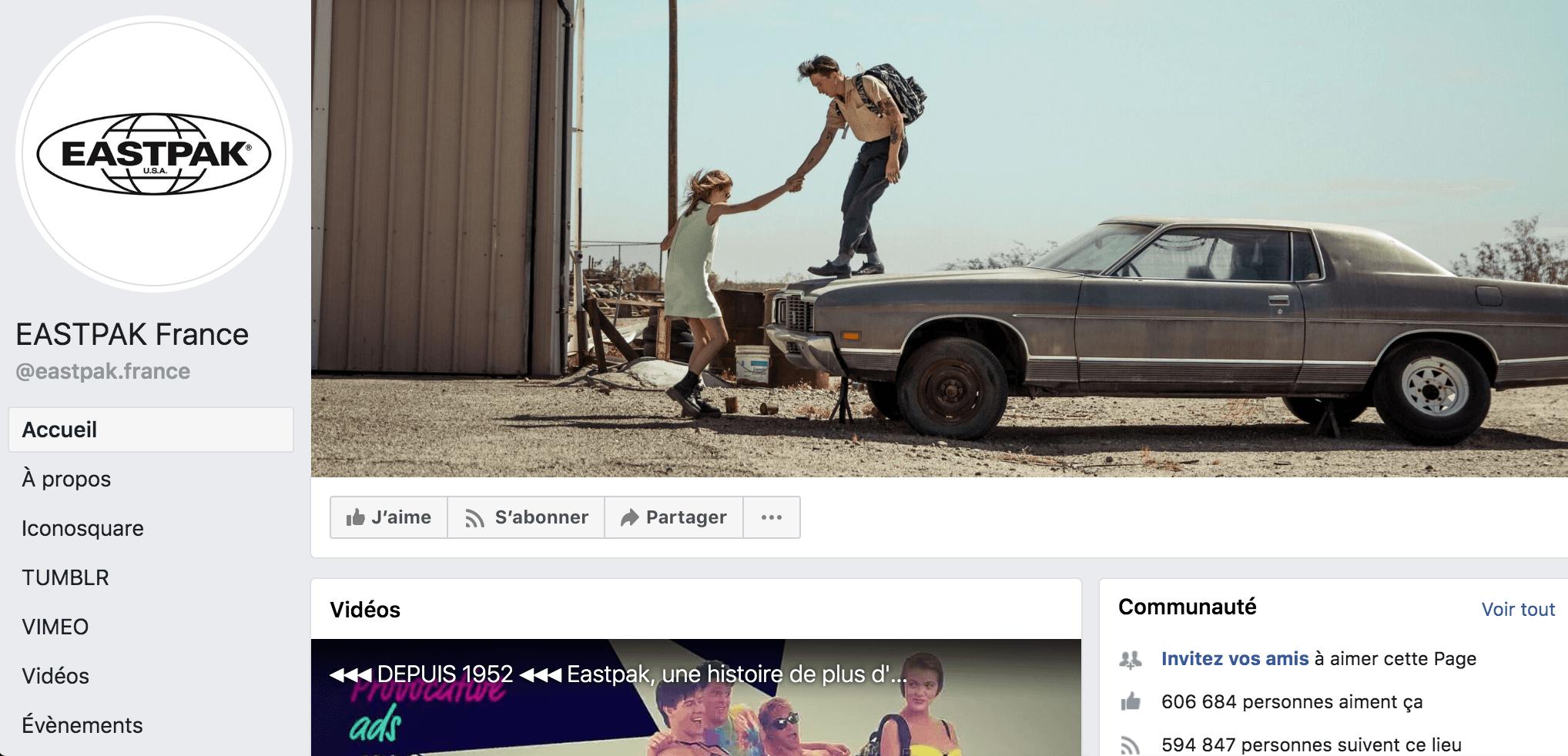 Format couverture facebook