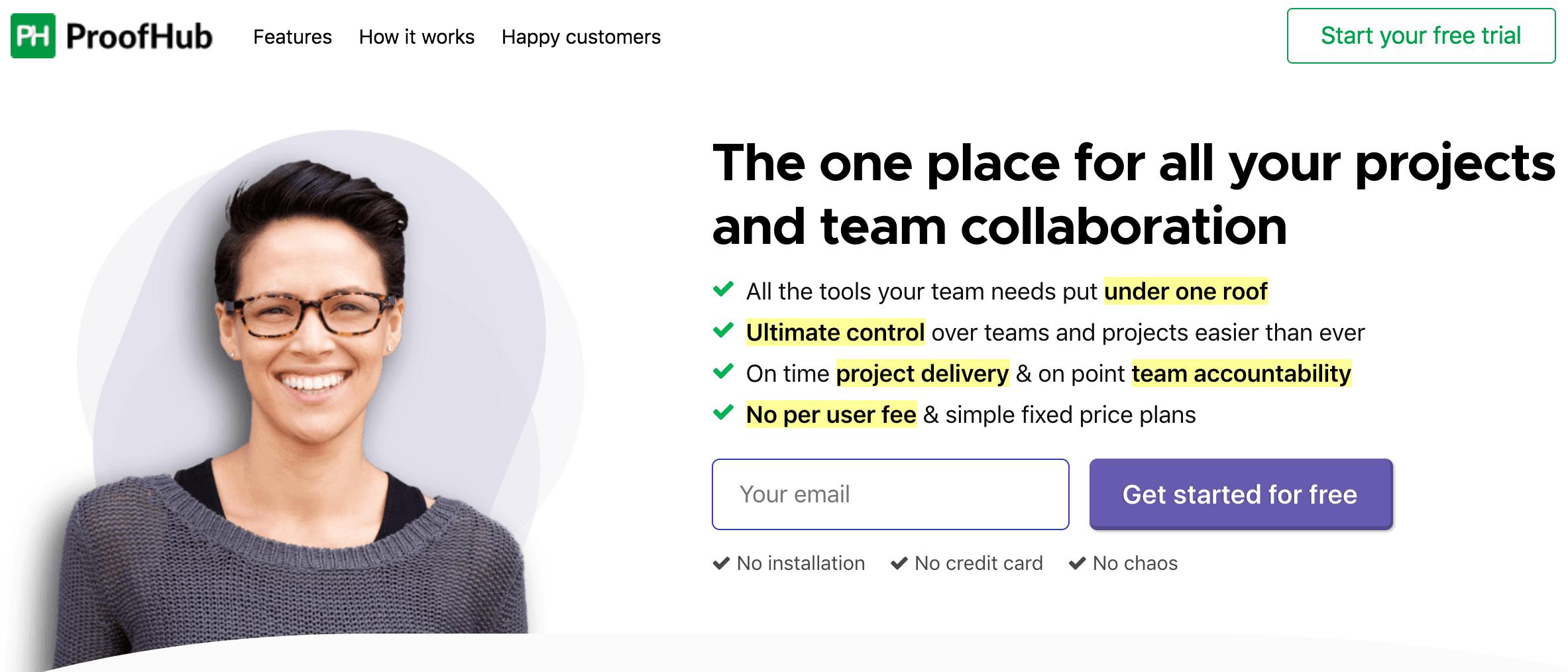 Proofhub outil gestion de projet
