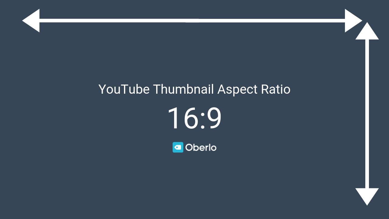 ratio youtube thumbnail
