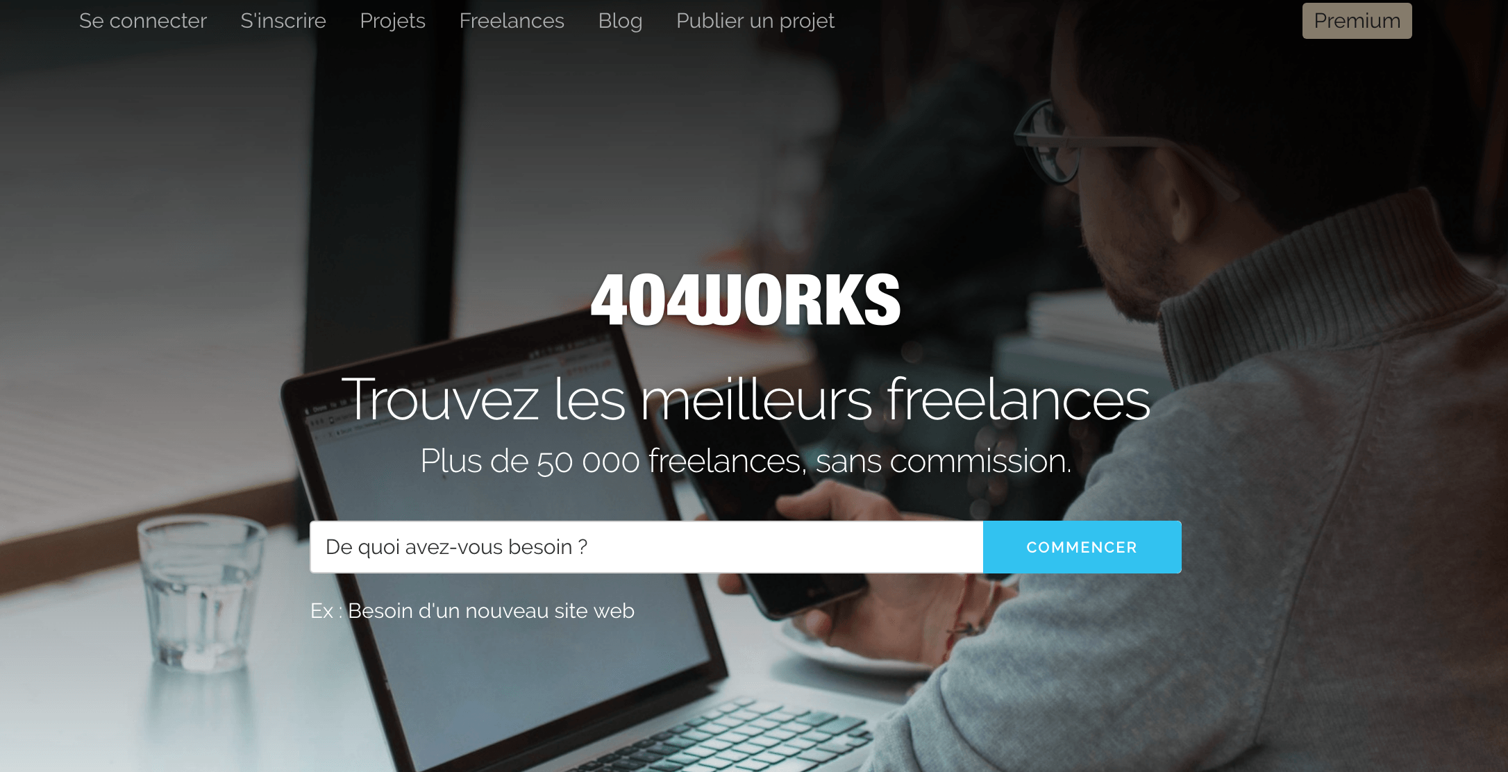 404works plateforme freelance