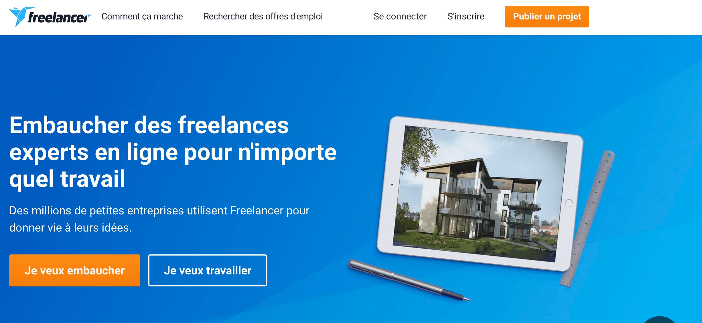 plateforme freelance