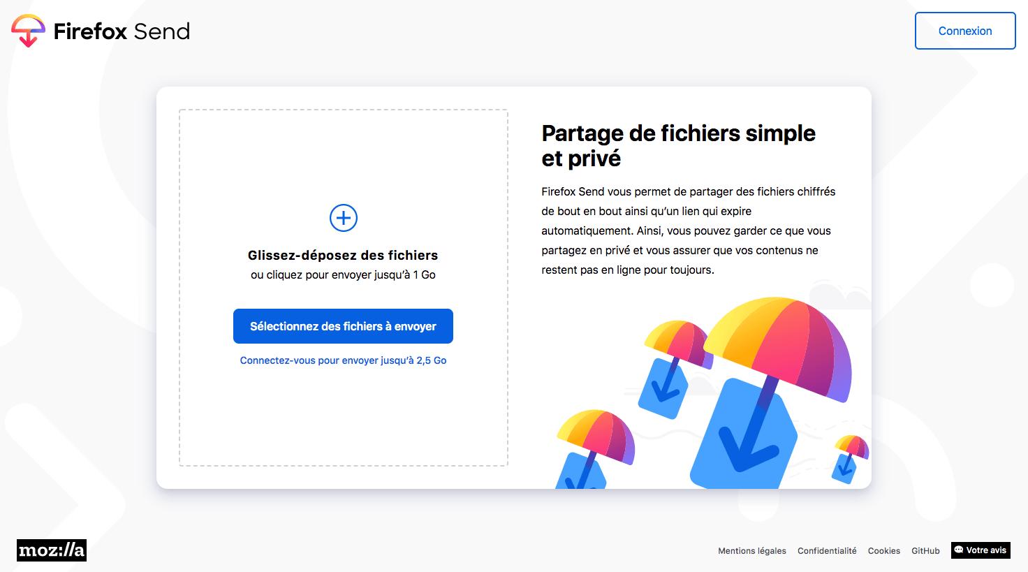 site de partage en ligne de gros fichier