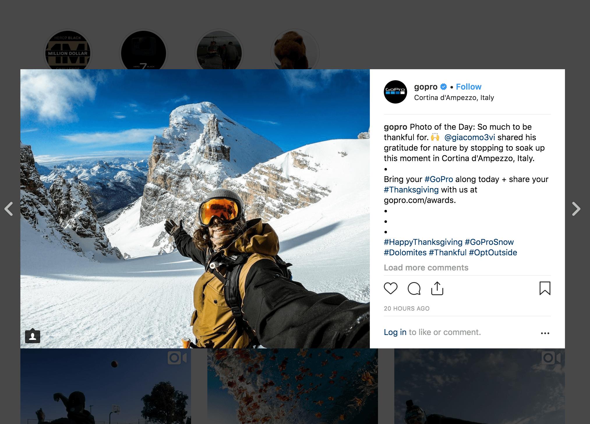 Go Pro Instagram