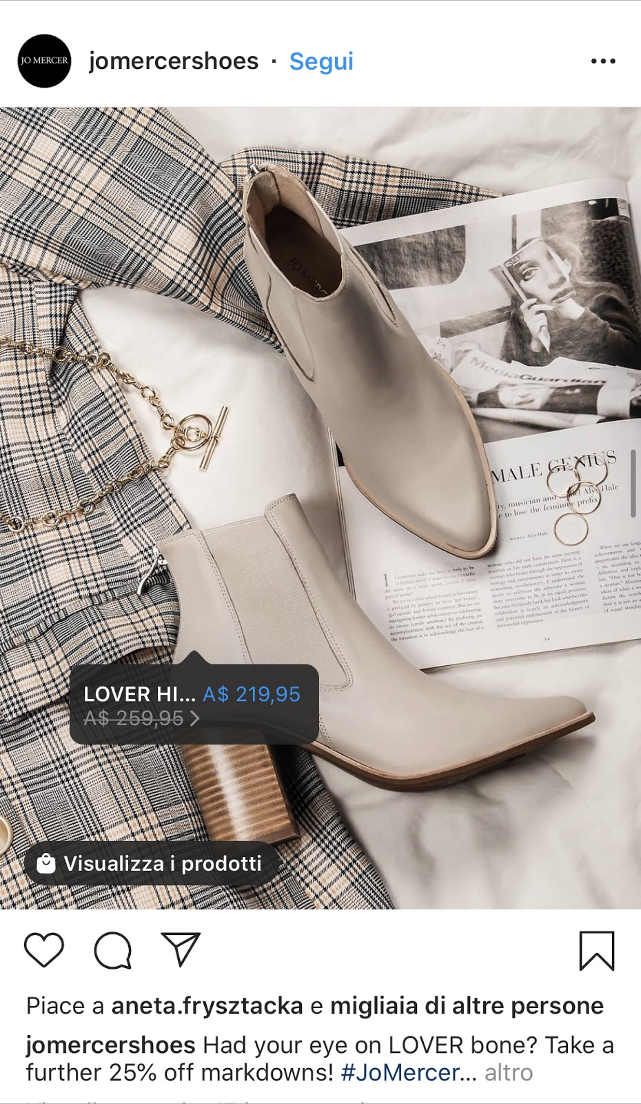 Instagram ads: shopping