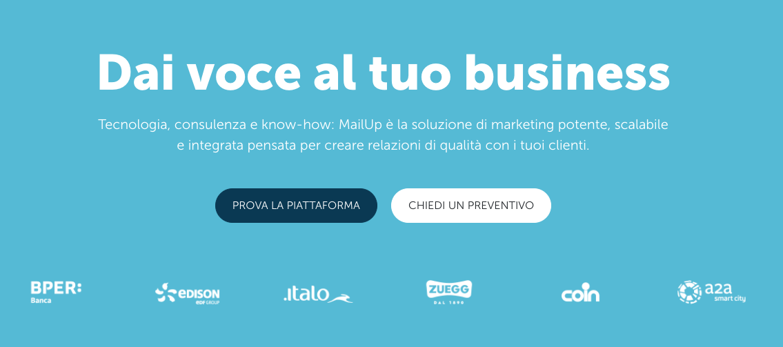 Mailup: affiliate Marketing tools