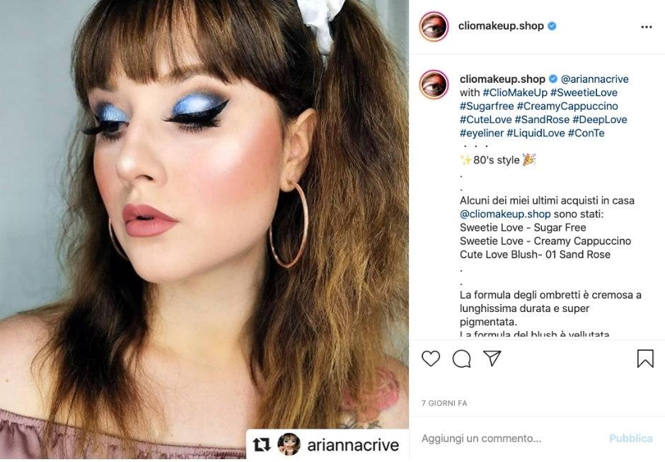 User Generated Content Instagram - Clio Makeup