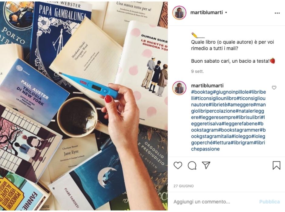 Hashtag su Instagram - Martiblumarti