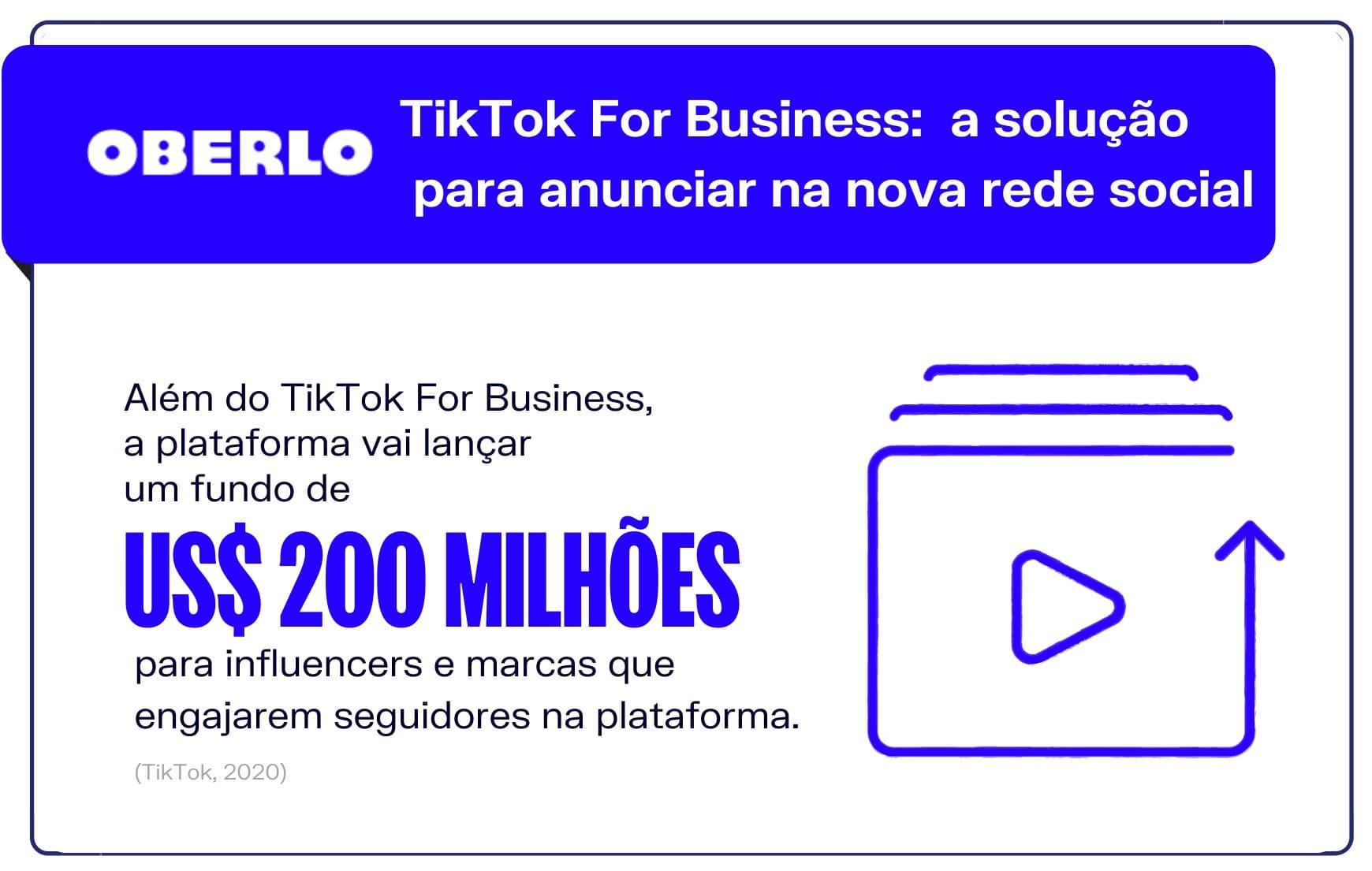 TikTok For Business: a solução para anunciar na nova rede social