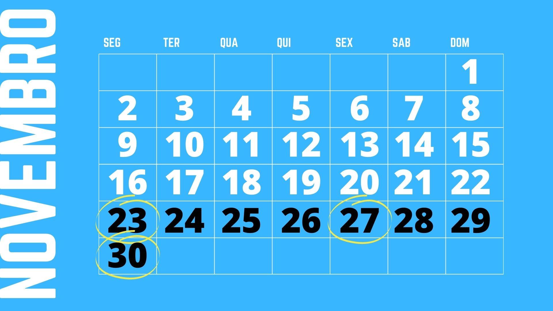 Quando é Black Friday? Calendário do Oberlo para Black Friday Brasil