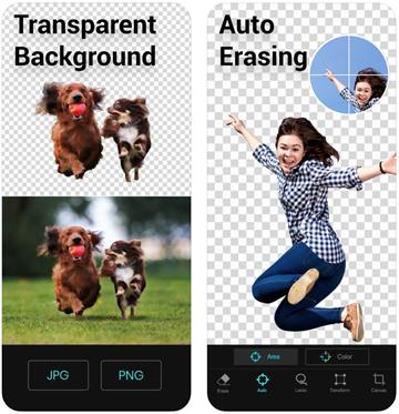 Background Eraser, da Kite Games Studio: app para tirar fundo de imagem