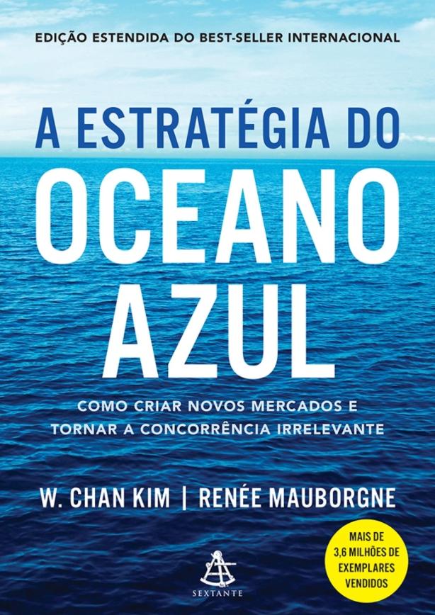 Livros para você ser um melhor profissional: capa de A estratégia do oceano azul