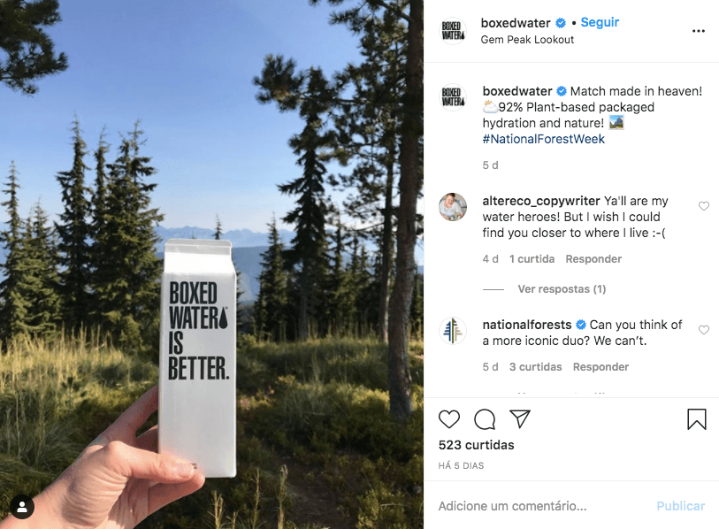 Digital influencer Instagram