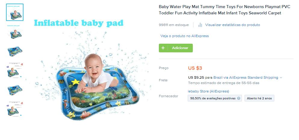 Produtos para vender durante a pandemia: Tapete para bebês (nicho de bebês e crianças)