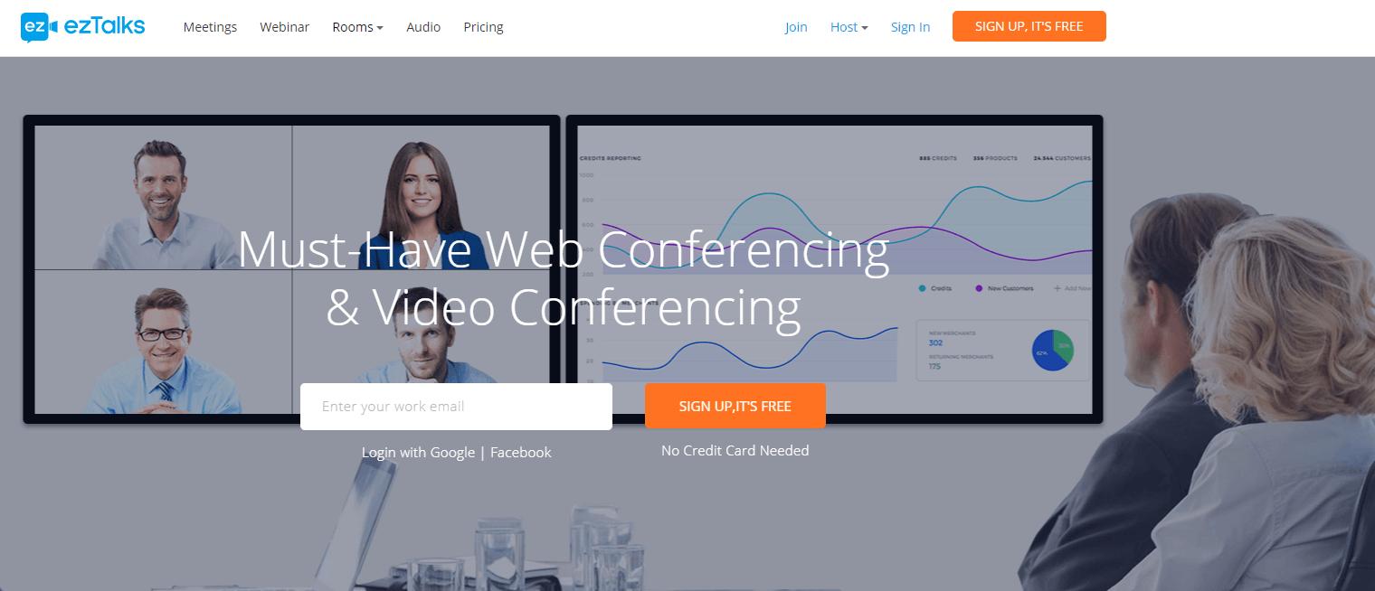 eztlalks, app de vídeo conferência