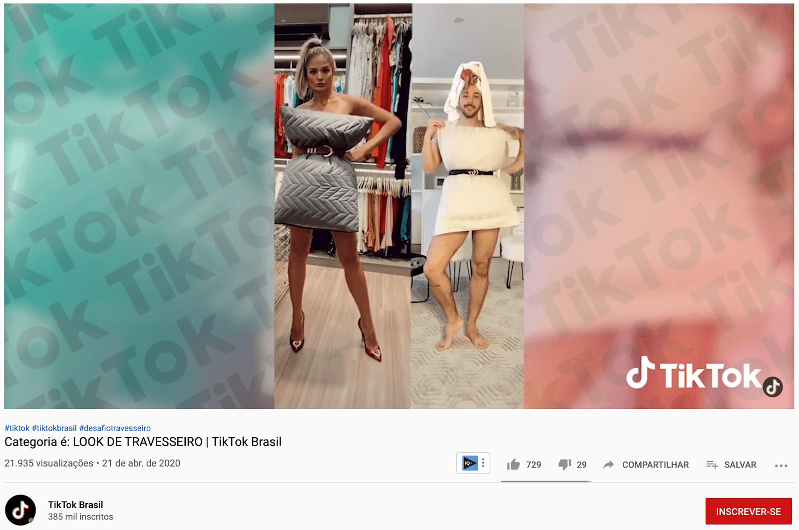 Tik Tok eYouTube