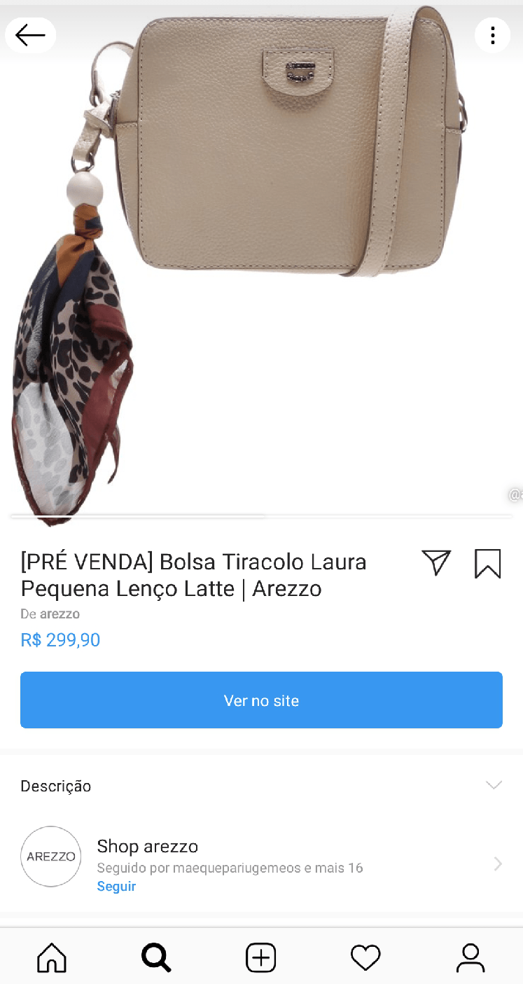 Compras no Instagram tutorial