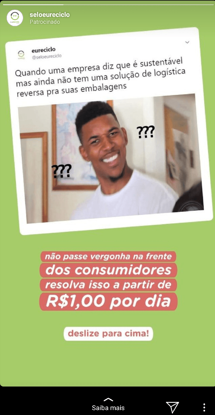 Como vender pelo Instagram: link nos Stories