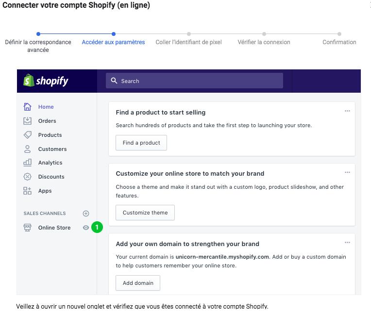 Comment installer le code pixel Facebook sur Shopify