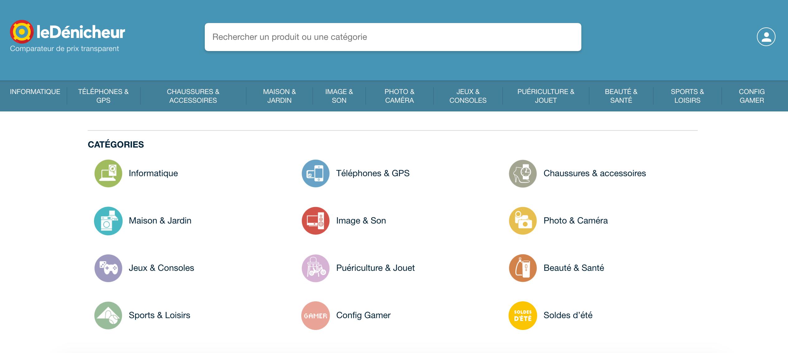 Comparateur de prix leDénicheur