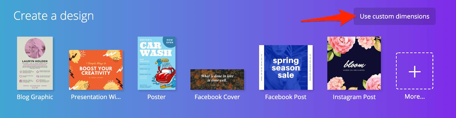 canva format couverture facebook