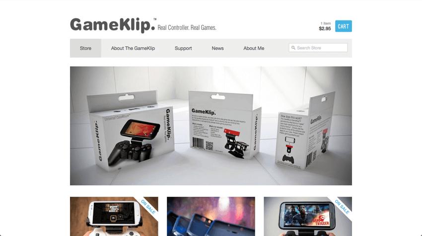 GameKlip Shopify Store