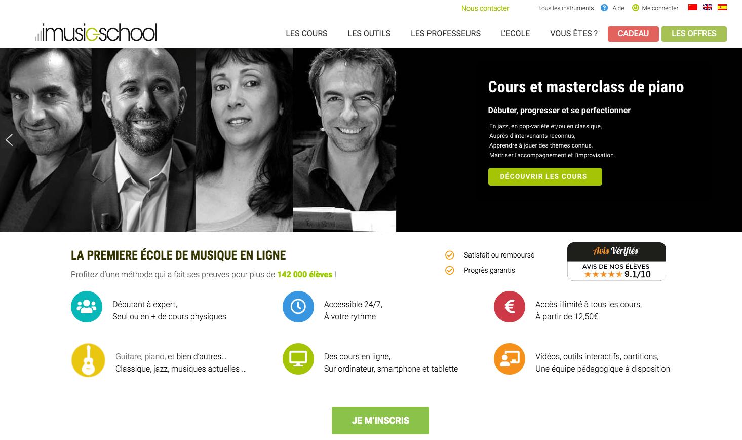 école de musique en ligne