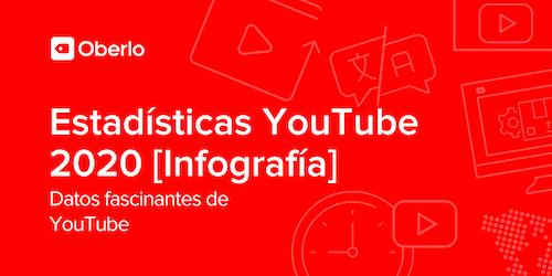 Estadísticas YouTube 2020 [Infografía] – 10 Datos fascinantes de YouTube