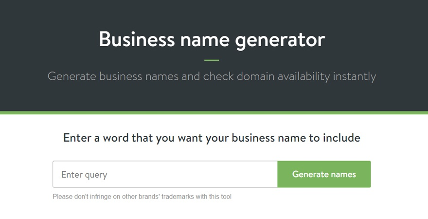 best business name generator