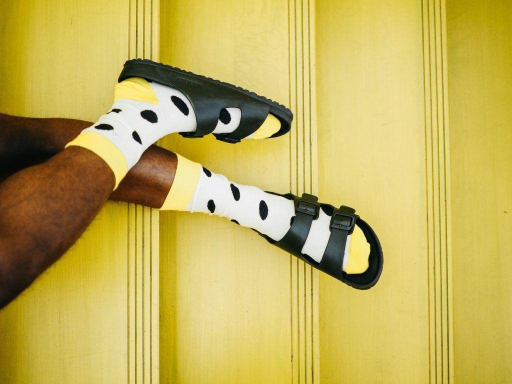 Pijamas e meias estão vendendo bem durante a crise do coronavírus