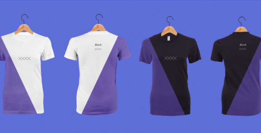 T-Shirt Mockup - Clothing Templates
