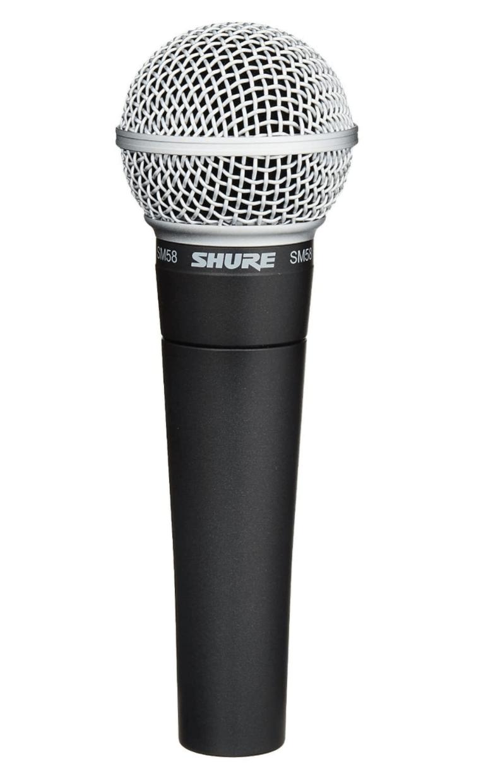 microfono shure professionale