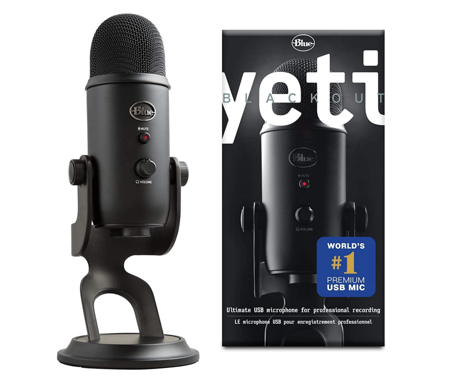 microfono usb yeti