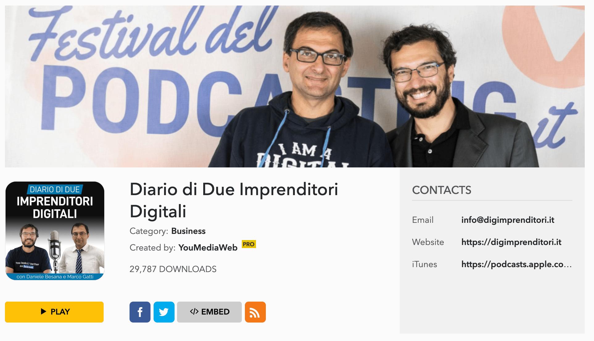 due imprenditori digitali