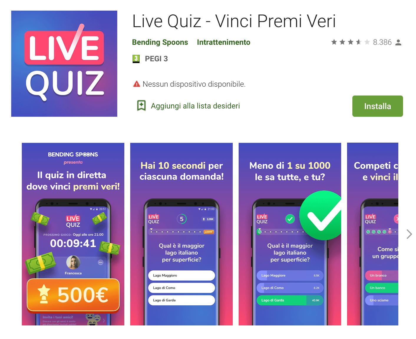 livequiz app