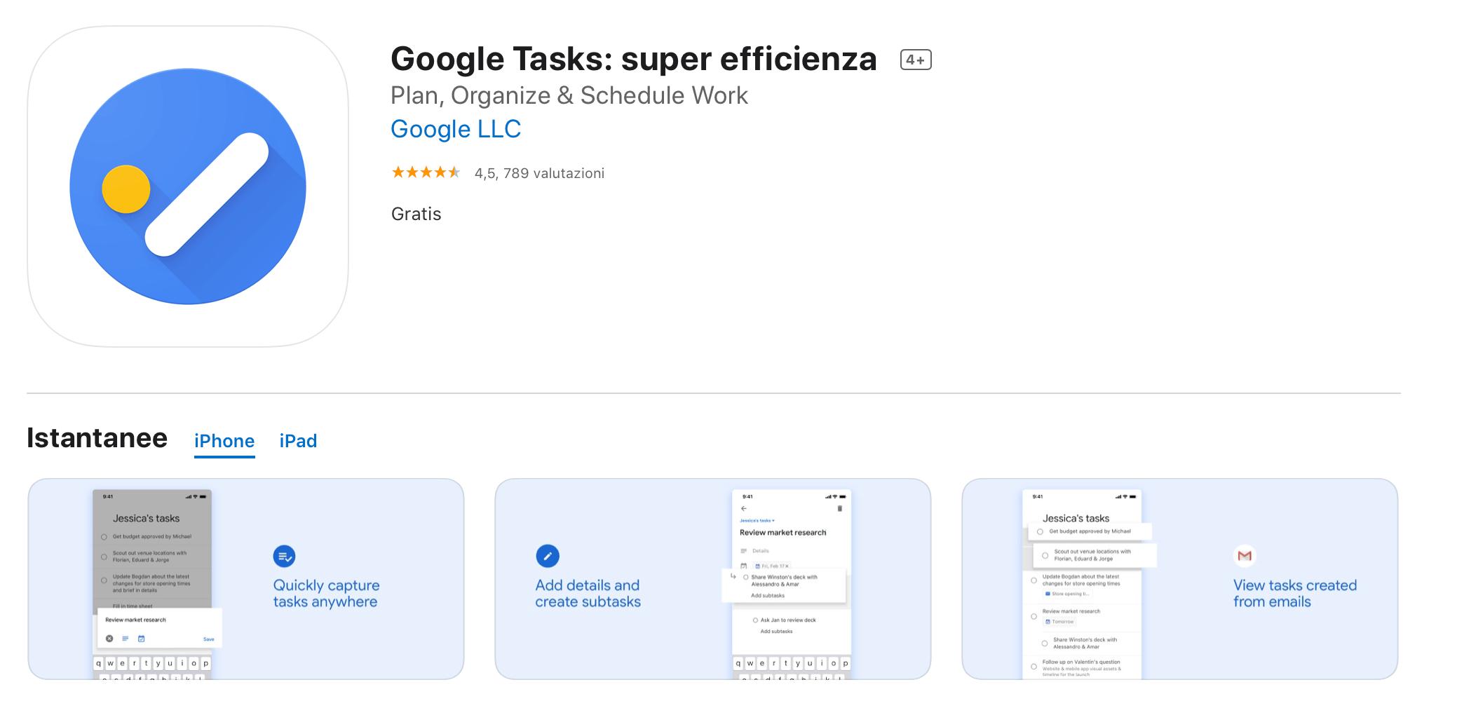 google tasks to do list