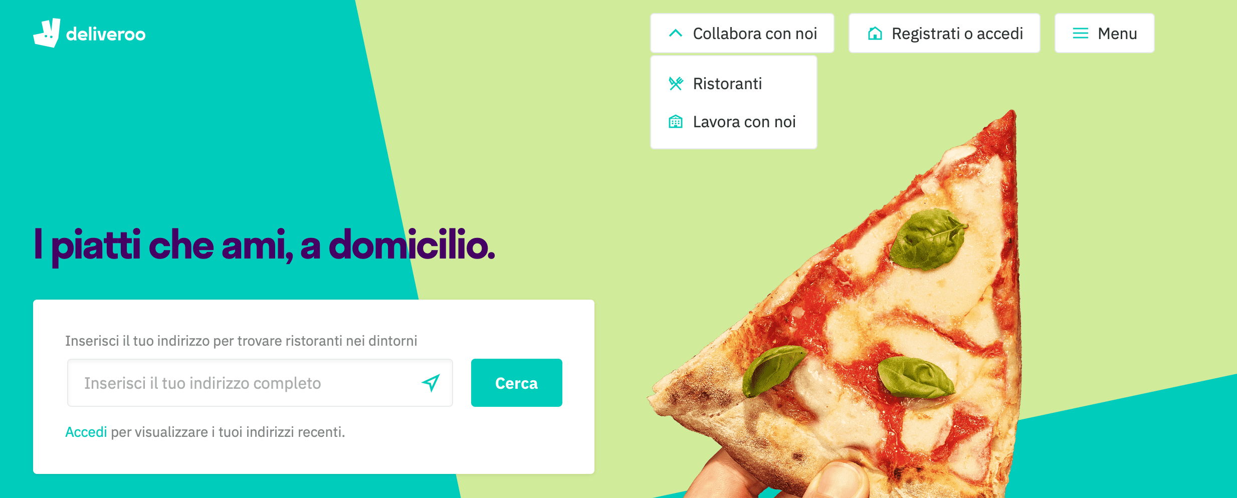 call to action deliveroo